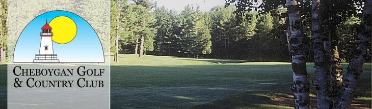 The Cheboygan Golf and Country Club fairway no. 11.
