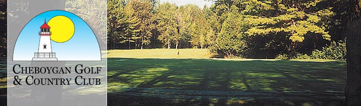 The Cheboygan Golf and Country Club fairway no. 10.